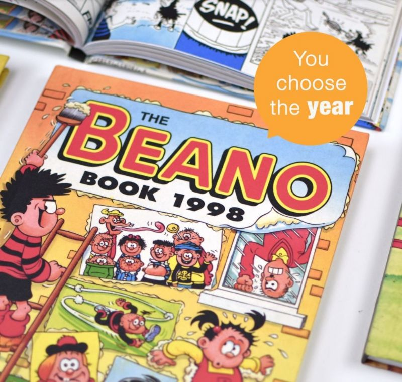 Beano Annual - Choose your Year and Personalise | Beano Gift ideas | Unique Gift